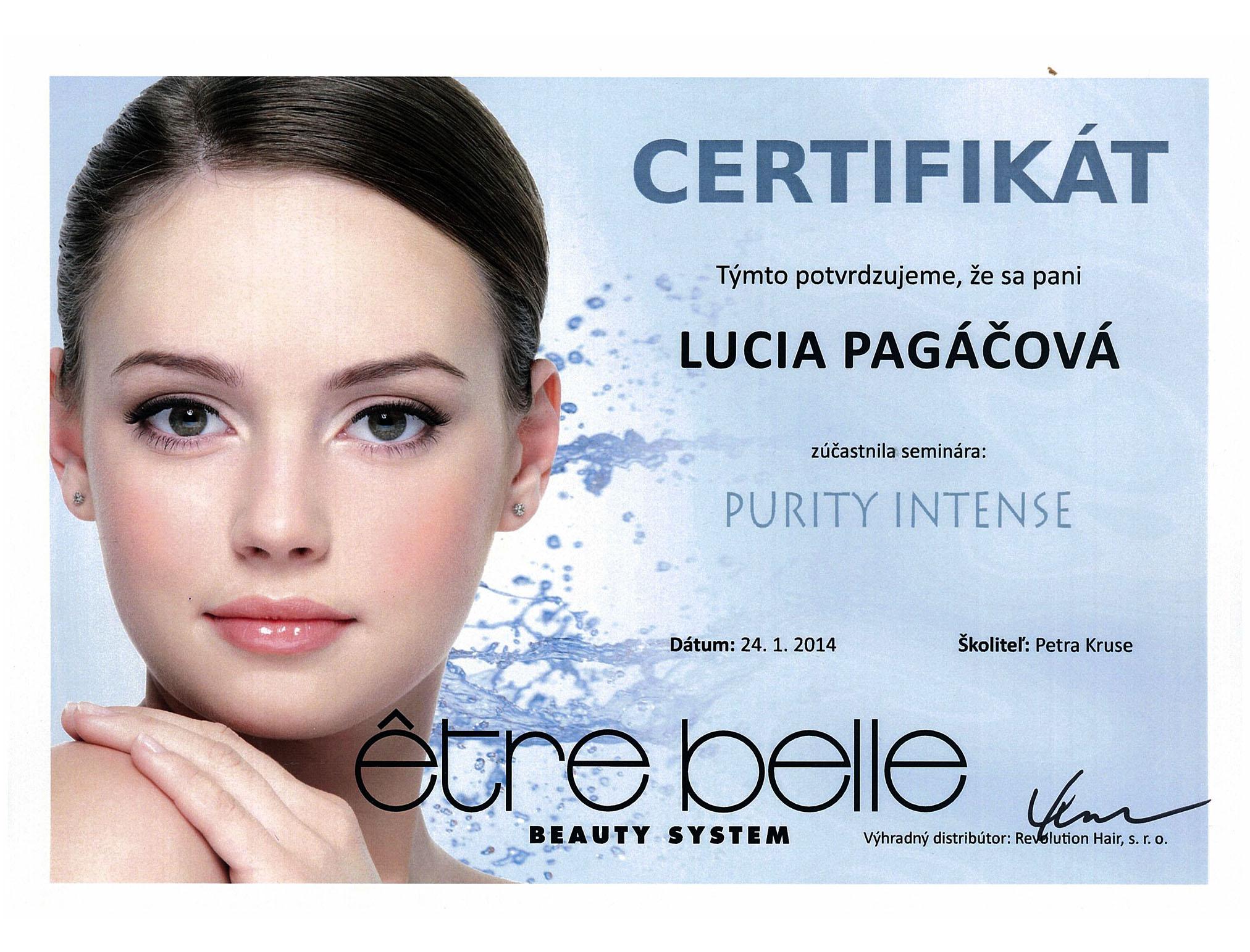 certifikat-purity-intense-bratislava